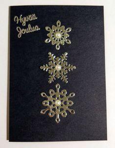Joulukortti lumihiutaleilla Brooch, Personalized Items, Jewelry, Jewlery, Jewerly, Brooches, Schmuck, Jewels, Jewelery
