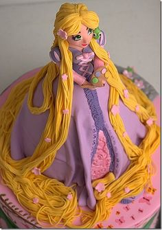 Well, I guess giving your assumedly young daughter a cake depicting a pretty princess wearing a dress that looks like a vagina is kind of empowering?
