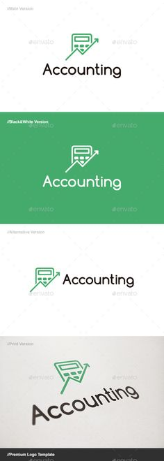 Accounting Logo - Objects Logo Templates