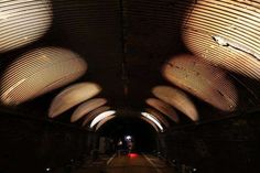 Interactive Light Installations - The Voice Tunnel Transforms a Busy NYC Underpass