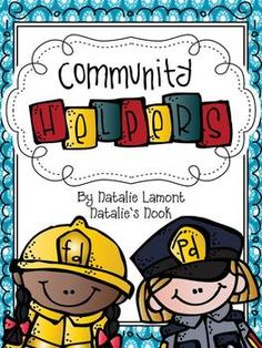 This is a fun, engaging community helpers unit! The adorable graphics from MelonHeadz and DJ Inkers will capture your student's interest and your students will love learning how workers in their community help to meet their social, educational, health, and safety needs. I have included a poem or song to go with every community helper and as always you will find every activity in colour and black and white. There is absolutely no prep with this unit beyond photocopying ~ EASY!