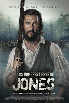Póster de Los hombres libres de Jones (Free State of Jones)