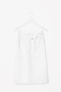 COS | Tie-waist skirt