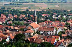 #Kintzheim #routedesvins #alsace #drinkalsace #SHKT ©Diegojack / Jacques - Les toits de Kintzheim