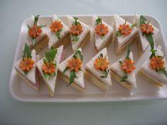 #hapjes #sandwiches #hightea