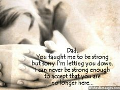 Losing my dad was & continues to be hard for me