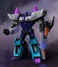 War for Cybertron/Fall of Cybertron Overlord by Grinwise.deviantart.com on @deviantART
