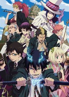 Ao no Exorsits / Blue Exorcist (manga; 2009 és anime sorozat; 2011)