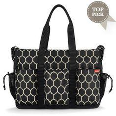 Layla Grayce - Skip Hop Diaper Bag Duo Double Deluxe Onyx Tile SK230010DA