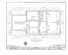 HABS NY,24-BROK,36- (sheet 1 of 15) - Van Nuyse-Magaw House, 1041 East Twenty-second Street, Brooklyn, Kings County, NY | Library of Congress