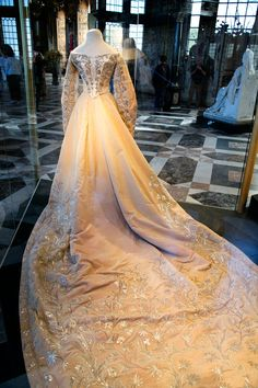 Grand Duchess Xenia of Russia Court Dress (Bodice is on Backwards)