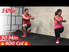 30 Minute Tabata Cardio Workout without Equipment at Home - Full Body HIIT No Equipment Cardio - YouTube