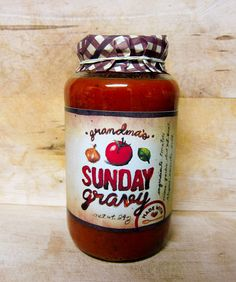 tomato sauce packaging design