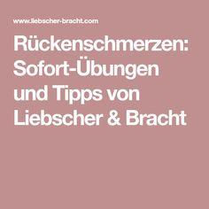 Rückenschmerzen: Sofort-Übungen und Tipps von Liebscher & Bracht