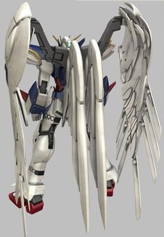 The XXXG-00W0 Wing Custom Gundam Zero (aka Wing Zero) is a mobile suit that appears in Mobile Suit Gundam Wing and its sequel OVA/movie Endless Waltz. Though having many pilots during its lifetime, the unit was most famously piloted by the series' main protagonist Heero Yuy.