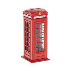 Cofre cabine telefonica londres R$ 59,90 Loja Zona Criativa
