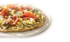 Create your own gourmet with the help of - try adding pesto, asparagus, smoked salmon and chévre. Pizza Sandwich, Anna Olson, Food Network Canada, Grilled Pizza, Spring Recipes, Smoked Salmon, Food For Thought, Vegetable Pizza, Pesto