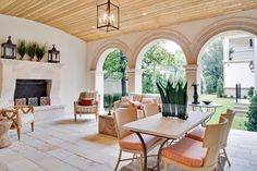 I love everything about this outdoor living room. It's fresh, exciting, airy and cozy. A great place to relax. www.LiveIntownDal...