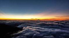 Mountain view at sunset Mountain View, Clouds, Celestial, Sunset, Landscape, Outdoor, Outdoors, Scenery, Sunsets