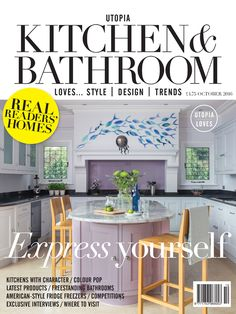 October issue of Utopia Kitchen & Bathroom Magazine is now on sale http://www.utopiamag.co.uk/subscribe/