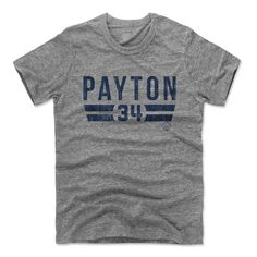 Walter Payton Font B Chicago Officially Licensed Unisex T-Shirt S-2XL