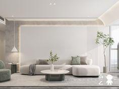 山乙建设丨保利国际广场 - 原创作品 - 站酷(ZCOOL) Apartment Interior, Apartment Design, Home Living Room, Interior Design Living Room, Living Room Designs, Living Room Furniture, Living Room Decor, Hotel Room Design, House Rooms