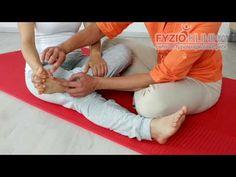 Uvolňování drobných kloubů nohy a prstů na noze - YouTube