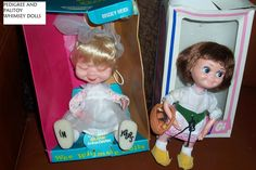 PEDIGREE AND PALITOY WHIMSIE DOLL BOTH MADE BY PERFECTA
