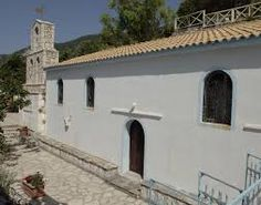agios nikitas lefkada church -