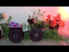 Porta bijuteria ou decoração com materiais reciclados - YouTube