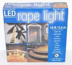 LED Rope Light 18 Ft Indoor and Outdoor Everstar http://www.amazon.com/dp/B0042XF9ZW/ref=cm_sw_r_pi_dp_v5jJtb1K42AN9ZFC