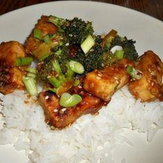 Healthy Sesame Tofu by Hezzi-D