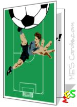 soccer card to print