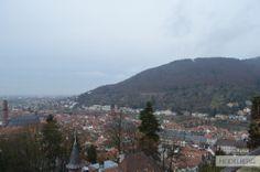 View from the Schloss Heidelberg - Germany | Vista do Castelo de Heidelberg - Alemanha #wanderlust