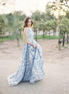 Wedding dress idea; photo: Kurt Boomer