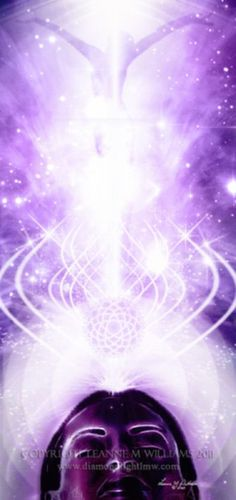 Enlightenment, Connection, Spirituality, oneness with the Universe. The Crown Chakra is the Chakra of pure consciousness.