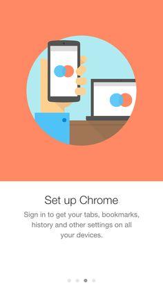 Gmail iOS App intro screens