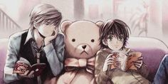 I love this couple so much I had to pin it! ( Junjou Romantica)