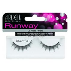 Ardell Runway Beautiful  - Color Black - Strip Rhinestone Style Eyelashes