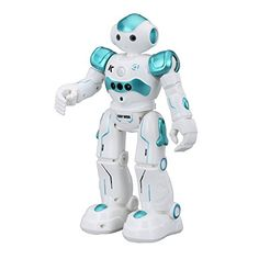 Virhuck R2 Smart Remote-Controlled Robot Toy for Kids Chr...