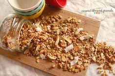 Sweet Lavender Bake Shoppe: coconut almond granola + coconut oil giveaway time...