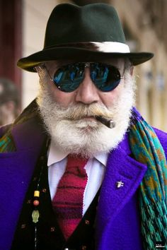 Old Style Man, Purple is the Color