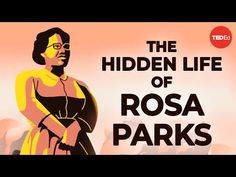 Learn about the life of civil rights activist Rosa Parks— her work with the NAACP, bus boycotts, and her lifelong fight against racial inequality. Ted Ed Youtube, Michael Goldberg, Bus Boycott, National Movement, Cc Cycle 3, Civil Rights Activists, Harriet Tubman, Rosa Parks, Cool Animations