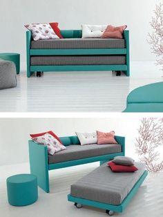 Resultado de imagen para como resolver tres camas de niños en un espacio pequeño