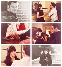 """""""I'm glad you have someone who takes care of you.""""  JESS AND NICK THE PRECIOUSNESS I CANNOT EVEN STAND IT"""