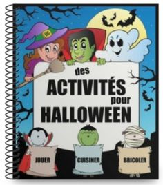 activités halloween gratuit Theme Halloween, Halloween 2018, Fall Halloween, Halloween Costumes, French Basics, Autumn Activities, Holidays And Events, Holiday Fun, Core French