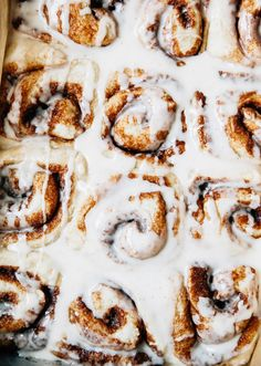 Vegan No Knead Cinnamon Rolls Recipe
