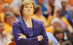 Winningest College Basketball Coach Ever,Pat Summit, Coach of Tennessee Lady Vols..Retired today 4-19-12 .