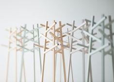 Nadia furniture by Jin Kuramoto made using shipbuilding techniques
