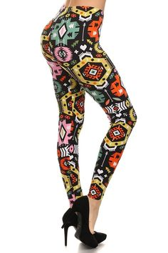d76b1cfc8182a Only your wallet will know these are not LulaRoe Leggings Seasonal Spring  Printed Leggings (Circuitry